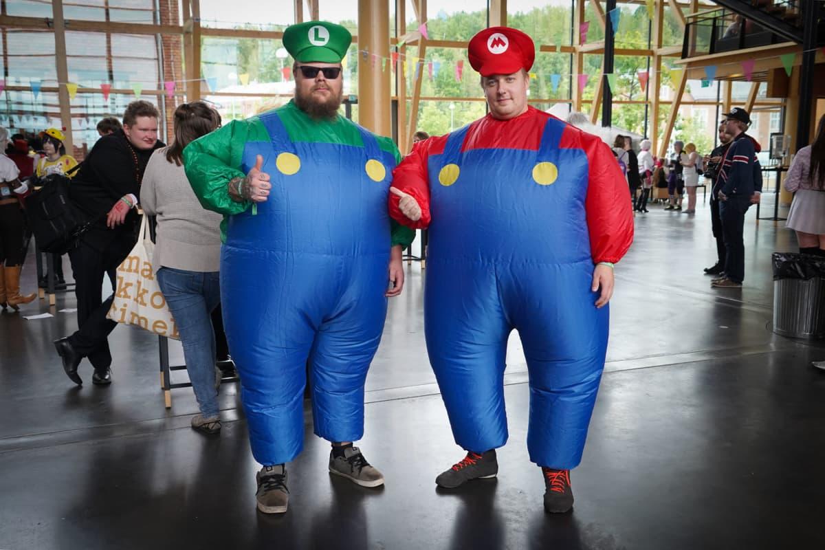 Desucon, cosplay, Super Mario, Luigi, Nintendo