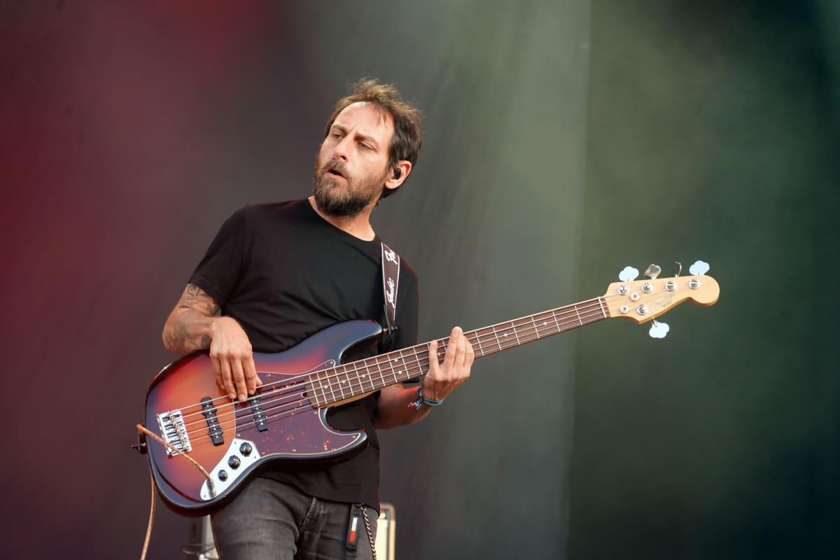Opeth, Tuska, Martin Mendez
