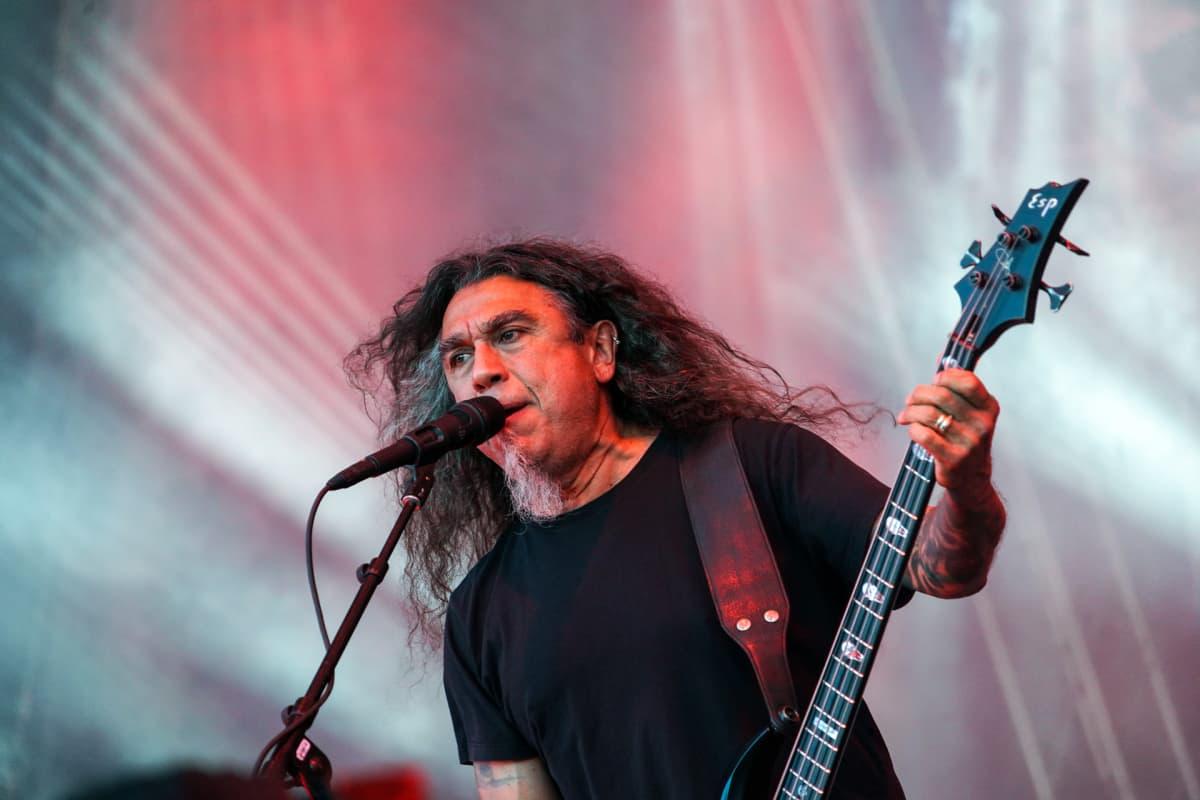 Slayer, Tom Araya, Tuska