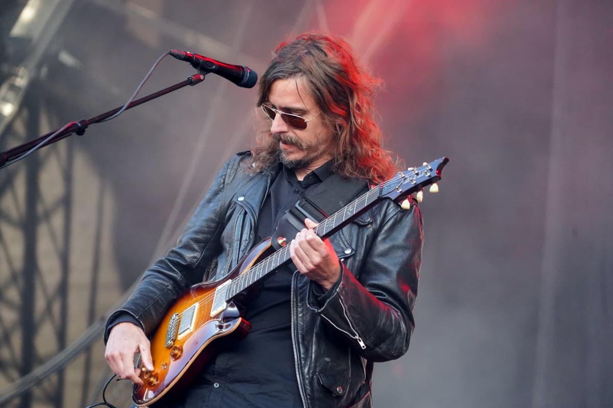 Opeth,  Mikael Åkerfeldt, Tuska