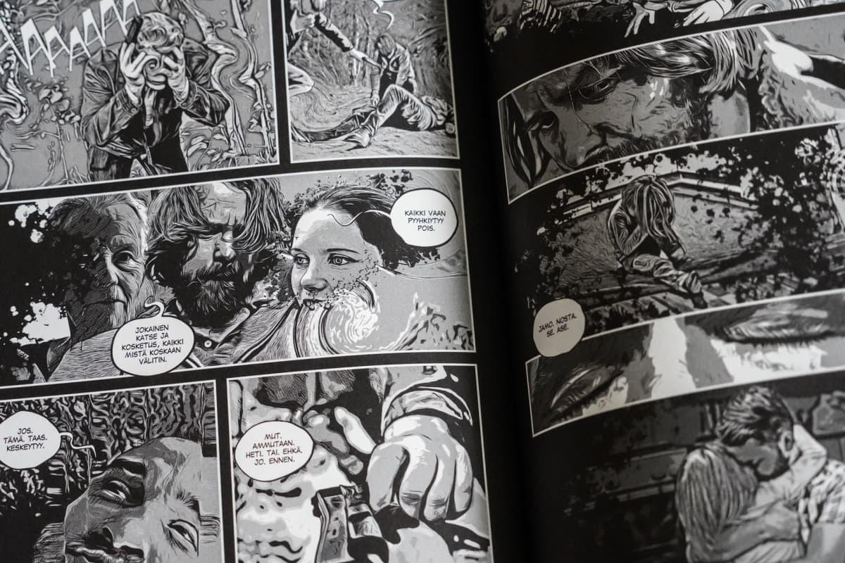 Avi Heikkinen, Valotusaika, sarjakuva scifi