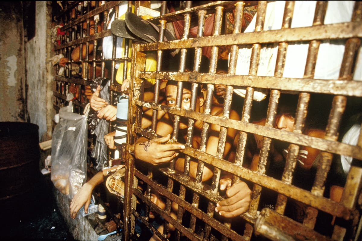Vankeja Rio de Janeirossa.