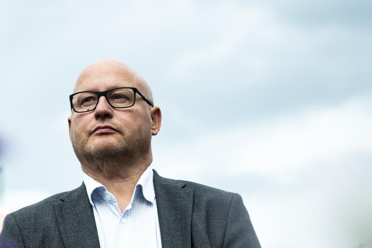 Teollisuusliiton teknologiasektorin johtaja Jyrki Virtanen 12.8.2019