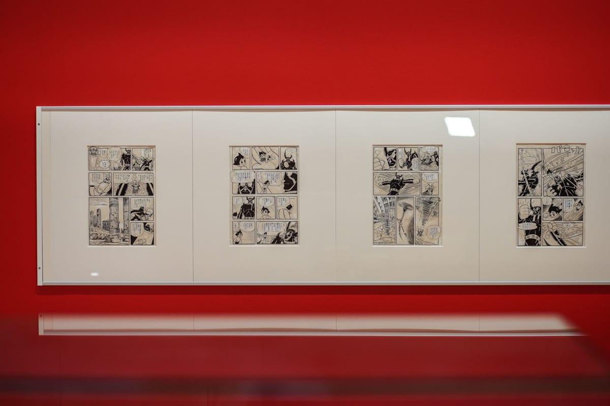 Astro Boy, manga, Osamu Tezuka, Tampereen taidemuseo