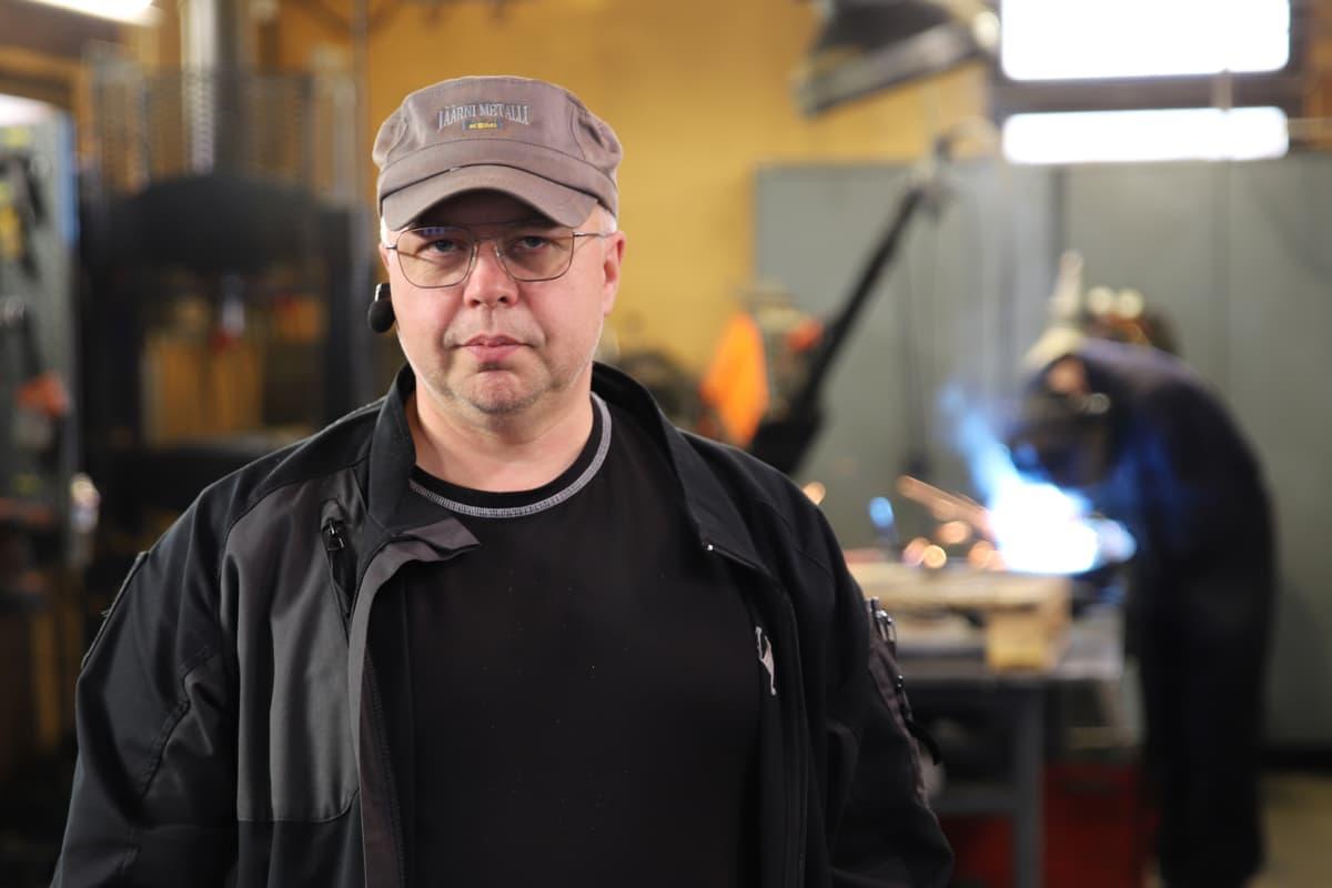 Jäärni Metallin yrittäjä Tuomo Jäärni.