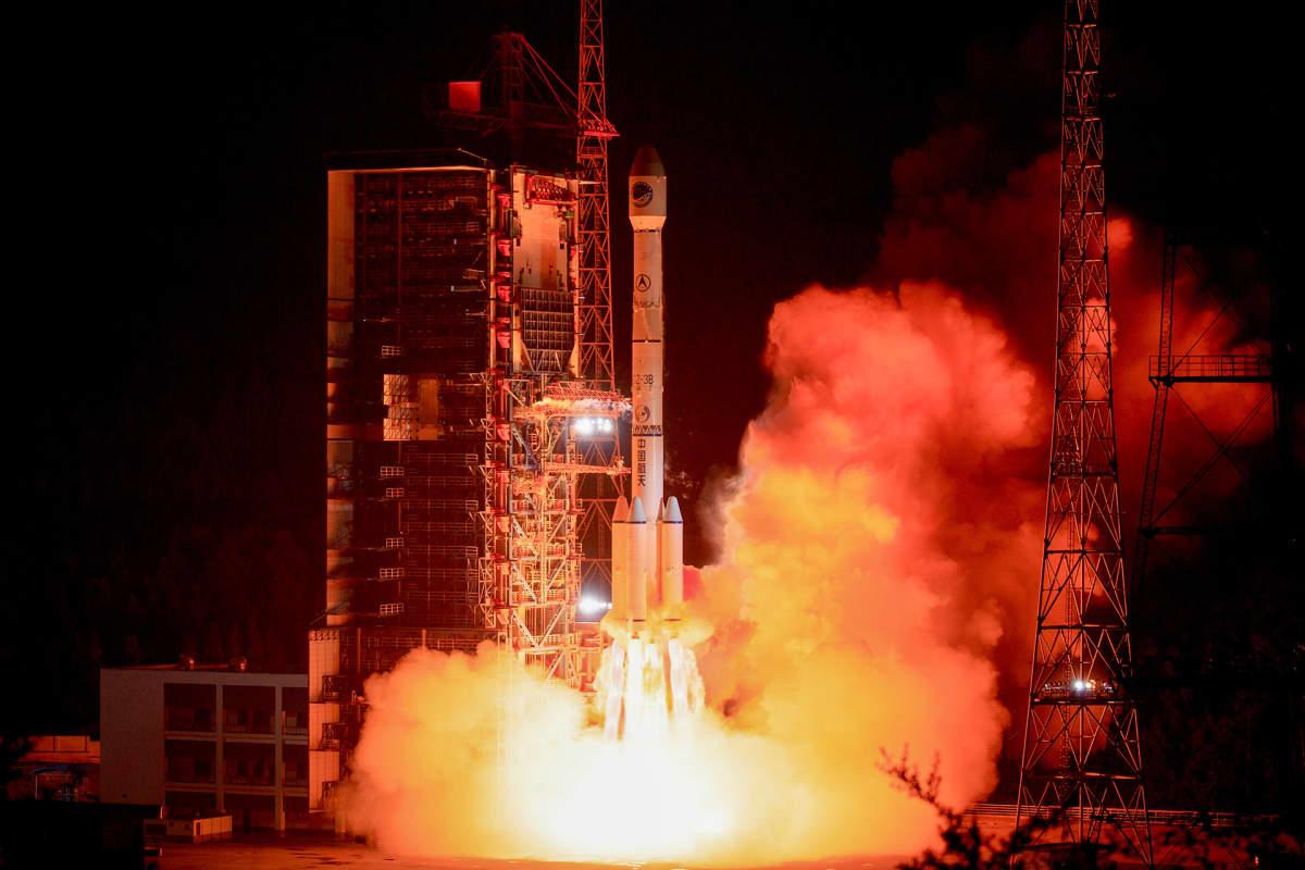 Viimeisin lisäys BeiDou-sateliittipaikannusjärjestelmään matkasi kiertoradalle Pitkä Marssi -3B-raketin kyydissä kesäkuussa Xichangin-satelliittilaukaisukeskuksesta Sichuanin maakunnassa.