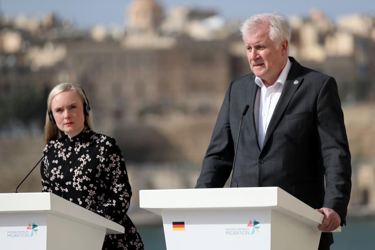 Suomen ja Saksan sisäministerit