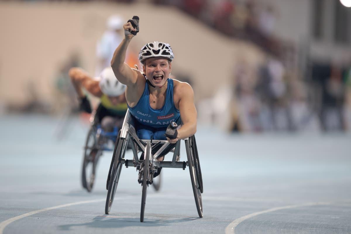 Amanda Kotaja voitti Dubaissa.