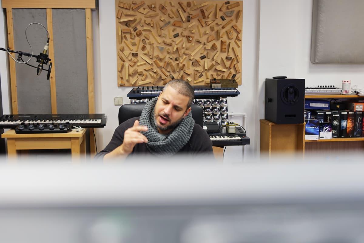 muusikko Ben Salomo