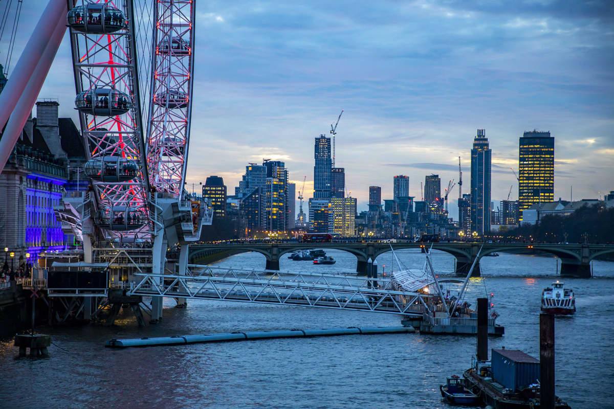 Näkymä Lontoosta