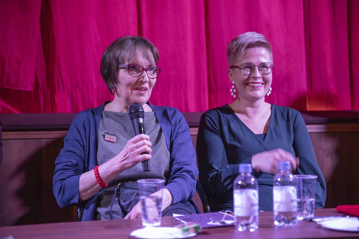 Helena Jouppila ja Sanna Wallenius