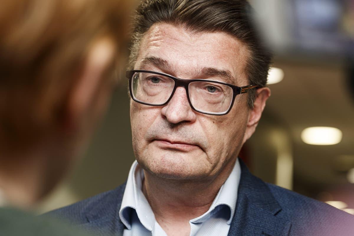 Ammattiliitto Pron puheenjohtaja Jorma Malinen