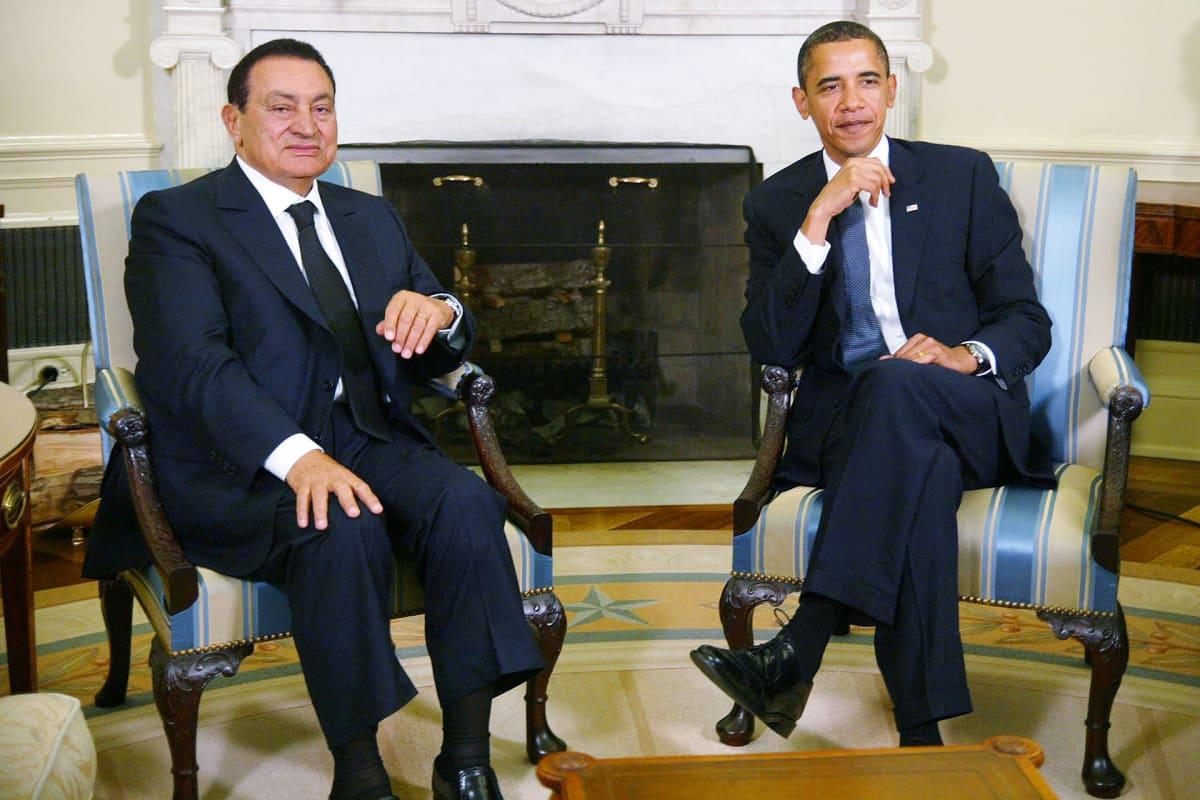 Hosni Mubarak ja Barack Obama 2009.