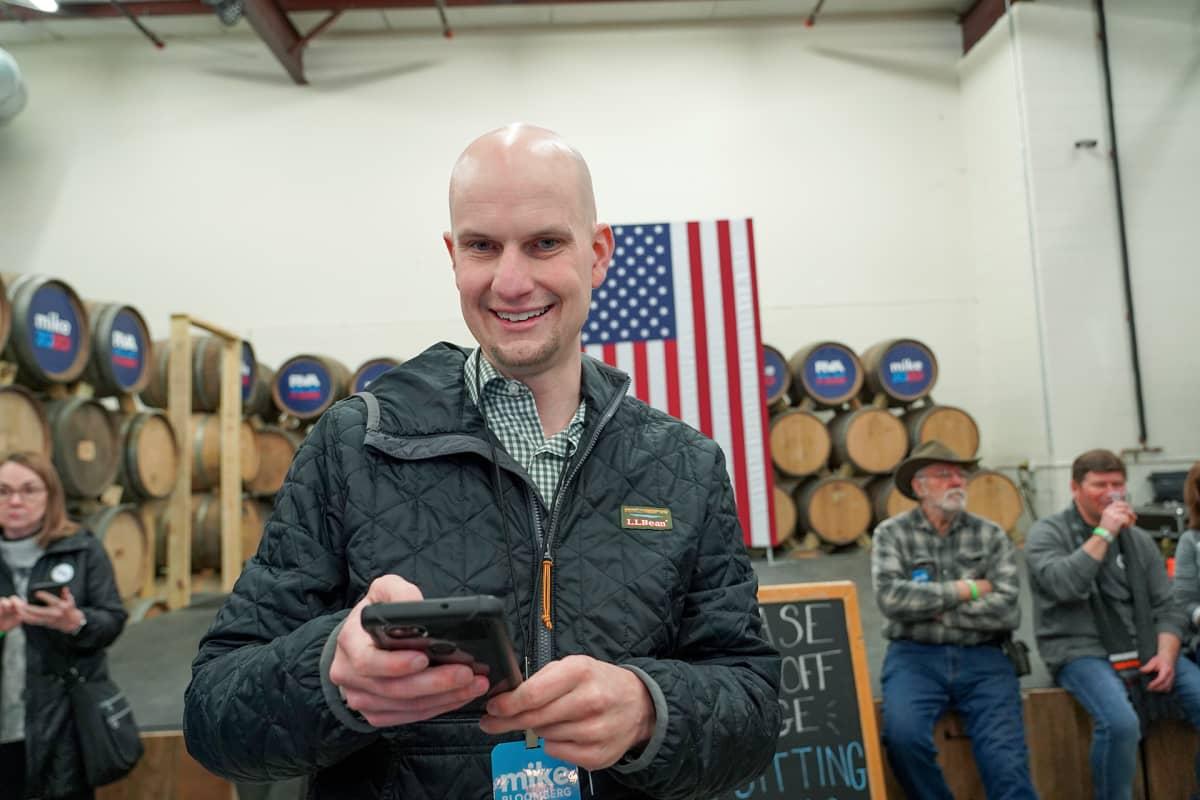 Matt Walton on seurannut Bloombergin kampanjointia Virginiassa tarkasti.