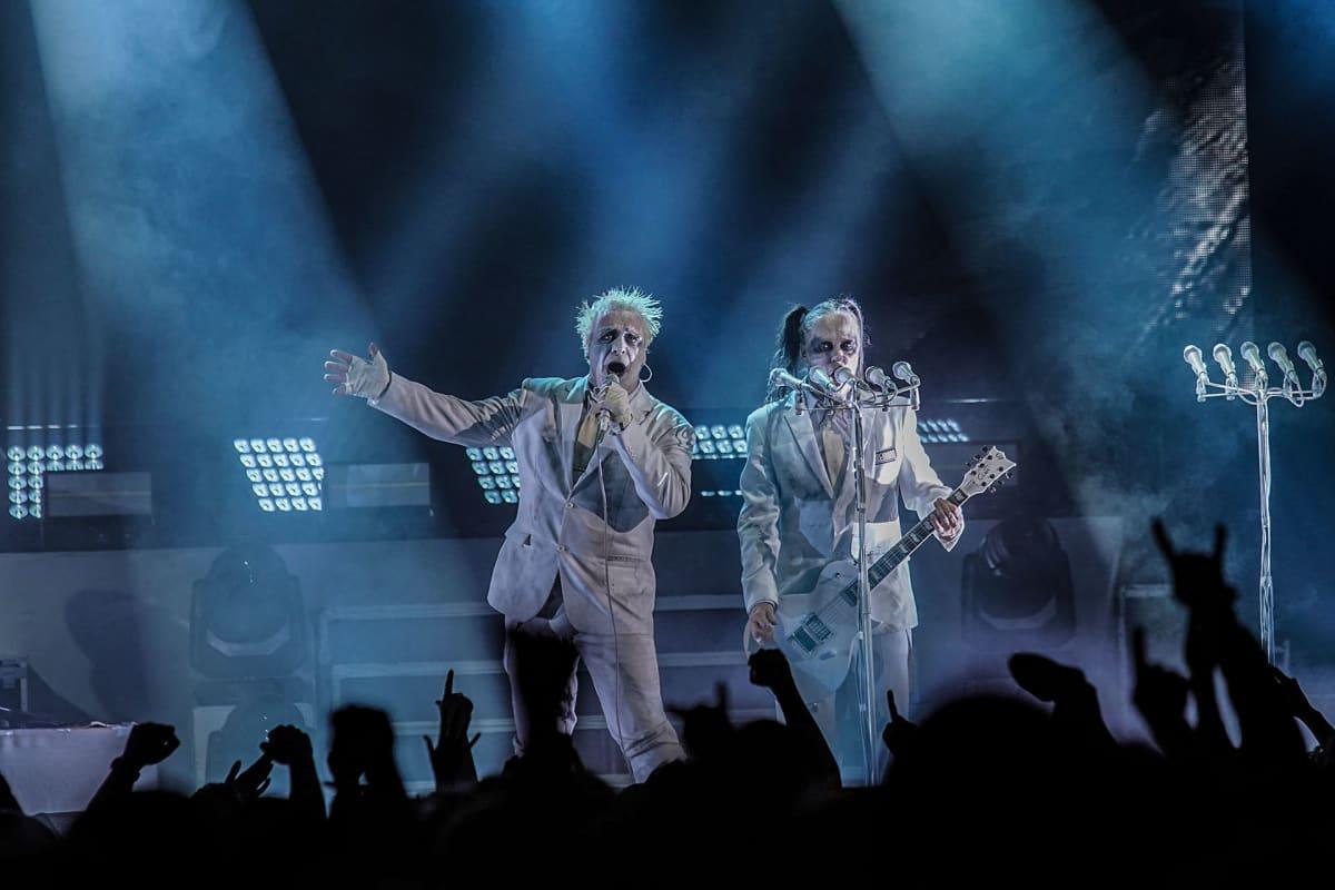 Lindemann, Rammtein, Helsingin Jäähalli