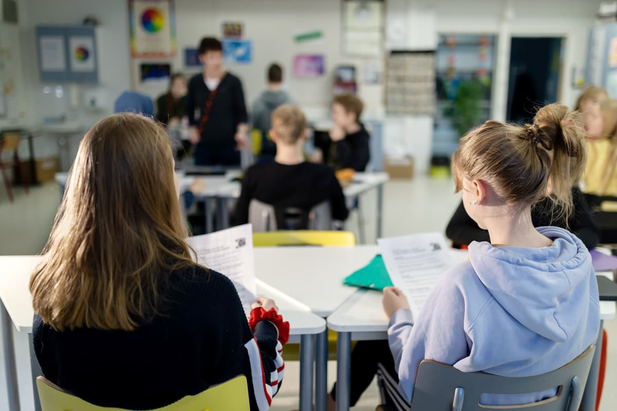 oppilaita luokassa
