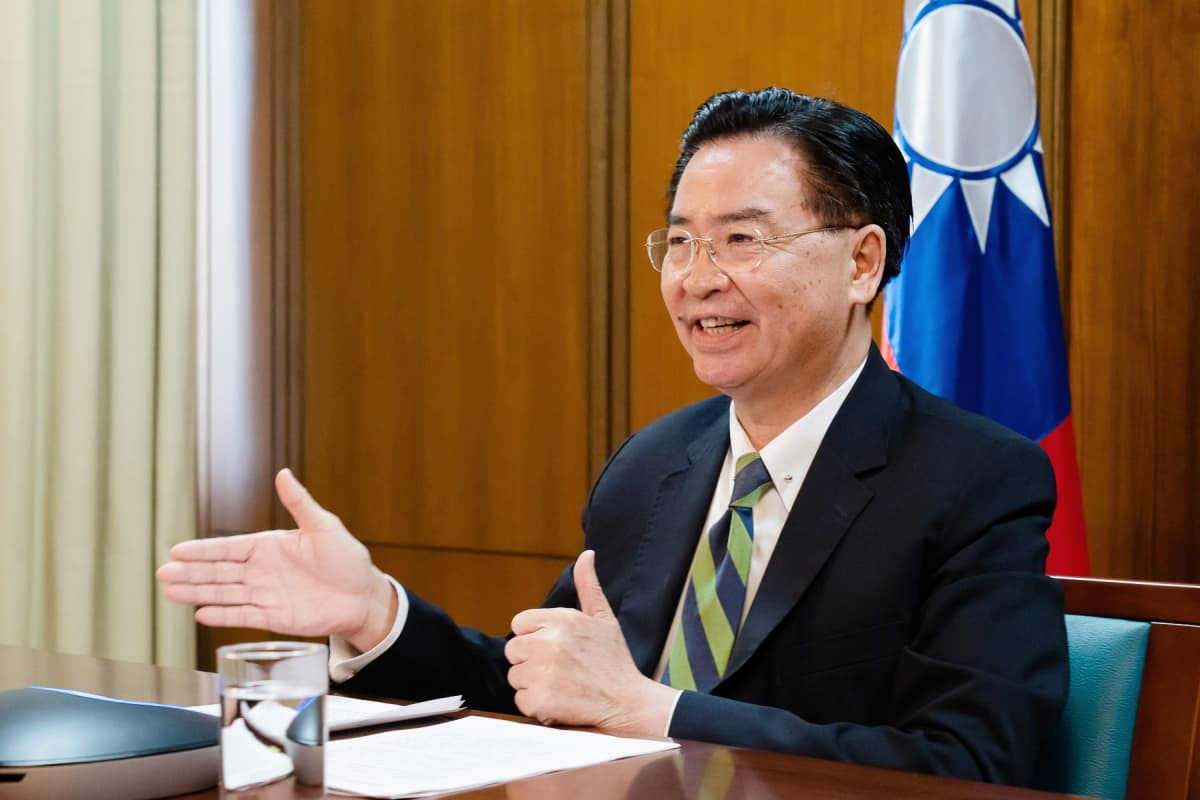 Taiwanin ulkoministeri Jaushieh Joseph Wu.