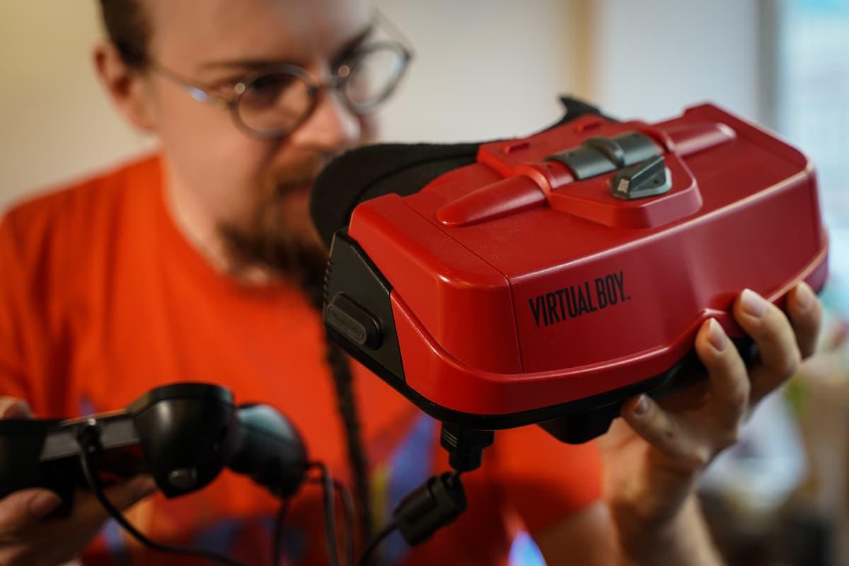Virtual Boy, konsoli, pelaaminen