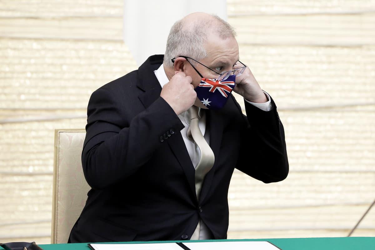Australian pääministeri Scott Morrison