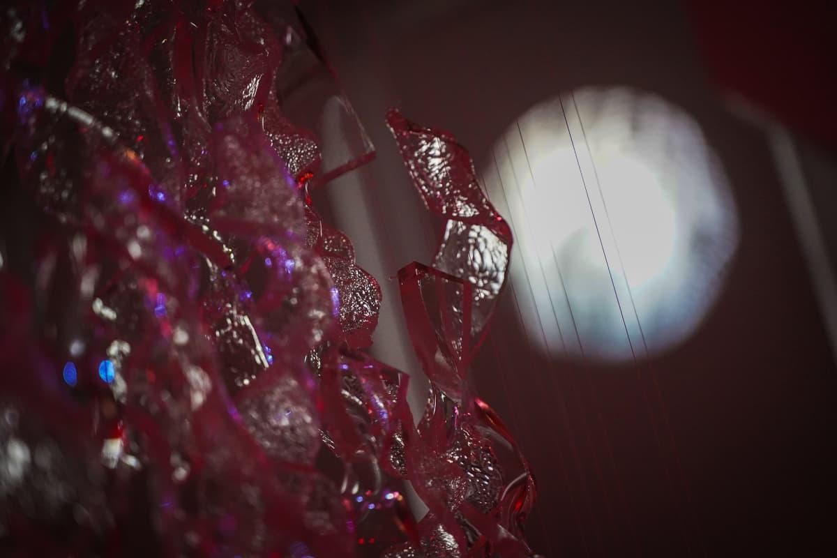 valotaide. MUU ry, Suomen valotaiteen seura, FLASH, Material Light