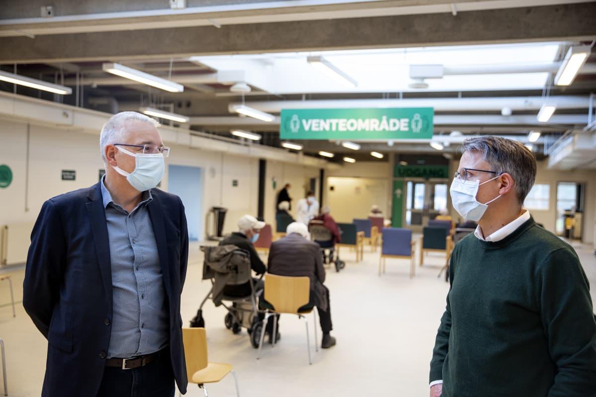 Sigurd Broersby-Olsen ja Kurt Espersen