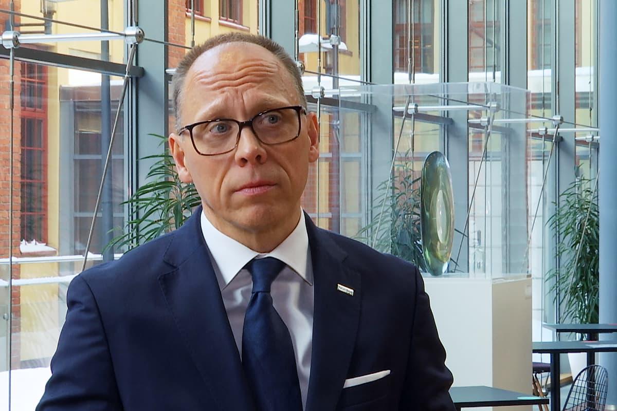 Nordean konsernijohtaja Frank Vang-Jensen