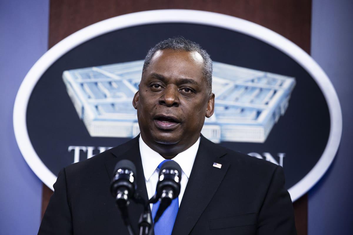 Yhdysvaltain puolustusministeri Lloyd Austin.