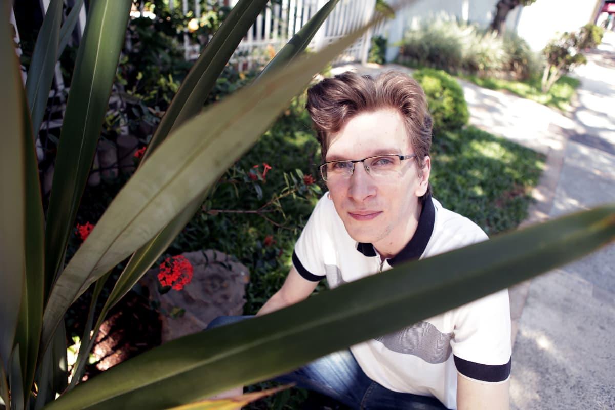 Brasilialainen Gustavo Teixeira opetteli suomen kielen itse netissä.