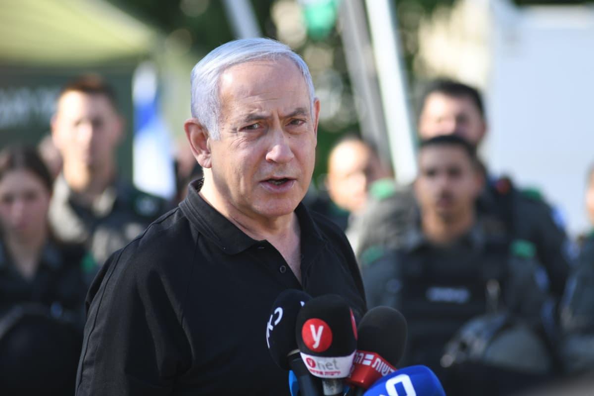 Israelin pääministeri Benjamin Netanyahu.