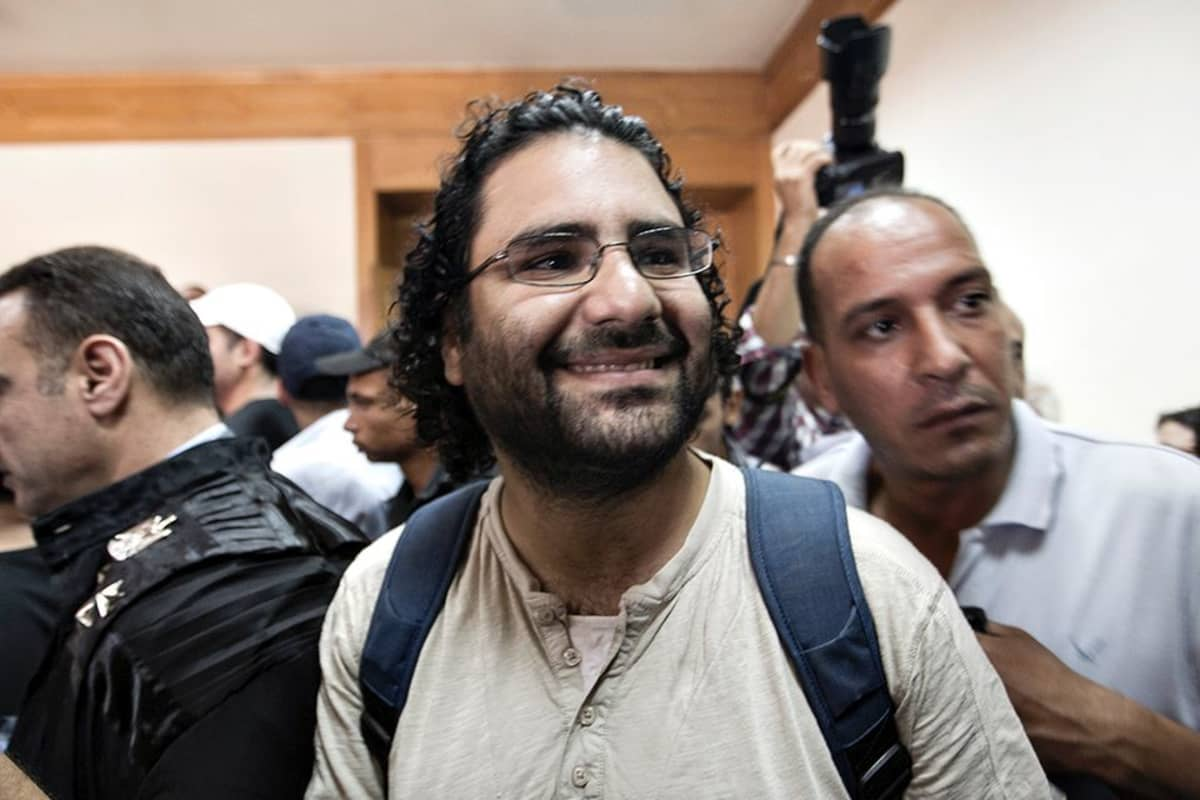 Alaa Abdel-Fatah.