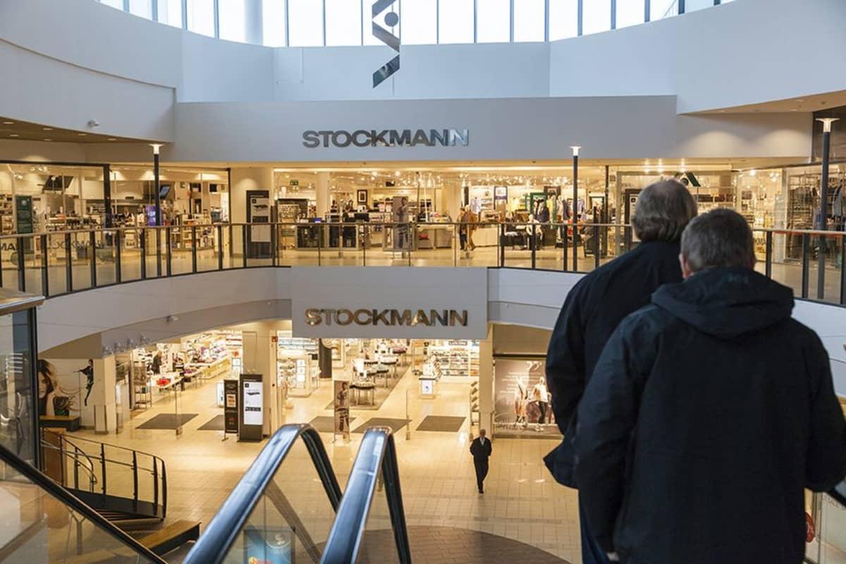 Stockmannin tavaratalo kauppakeskus Jumbossa Vantaalla.