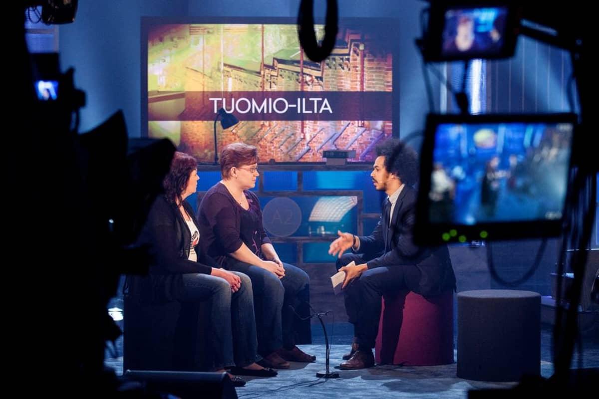 Tuomio-illan studiokeskustelu