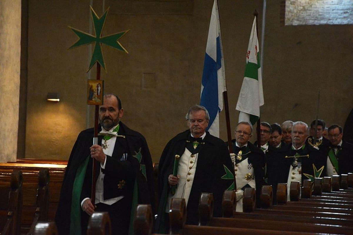 Pyhän Lazaruksen ritarikunnan jäseniä