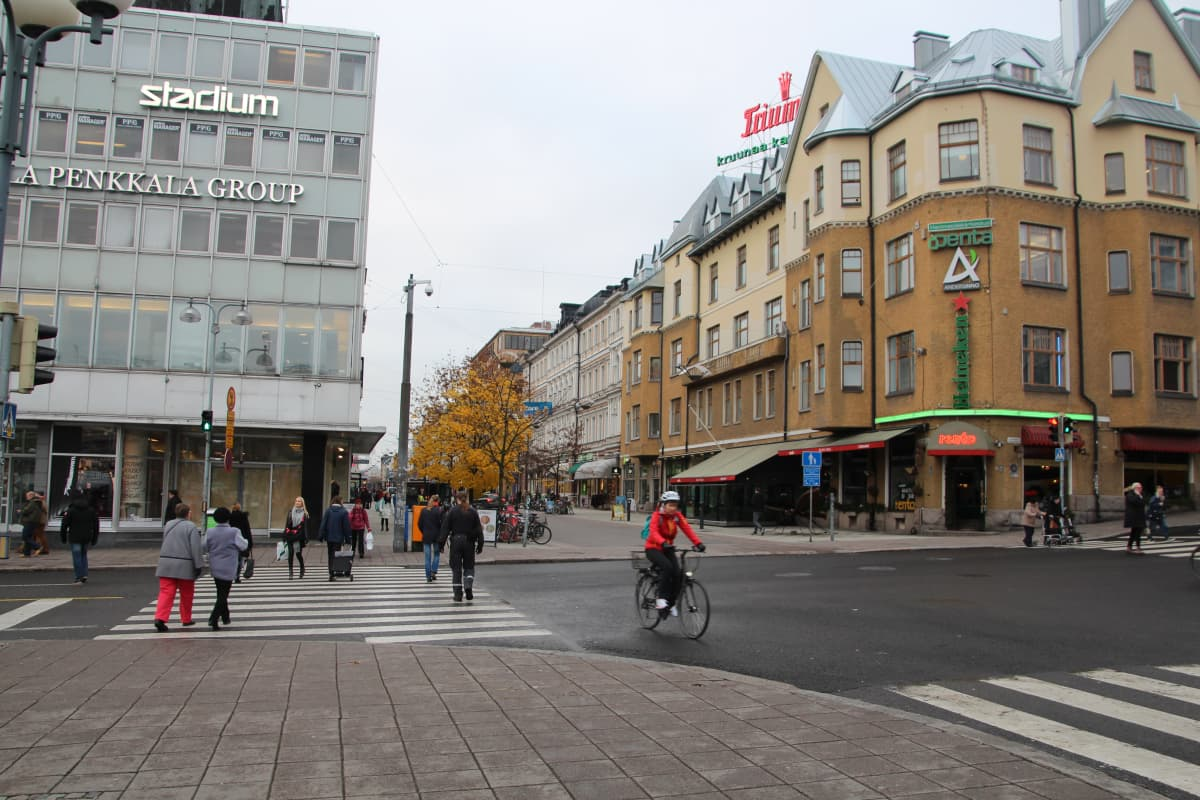 Turun keskustaa