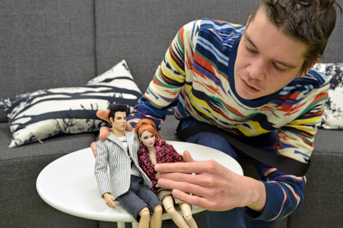 Sami Malmberg ja Fashion Royalty -nuket