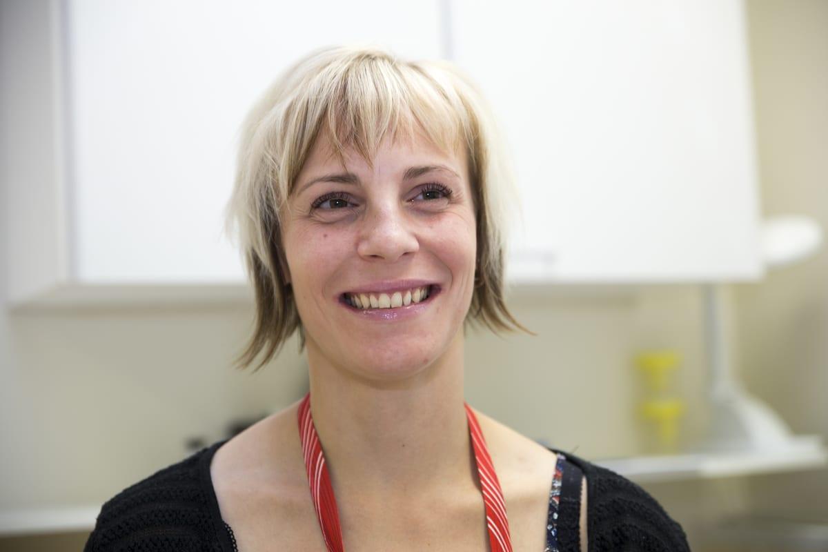 Terveydenhoitaja Maija Laurén
