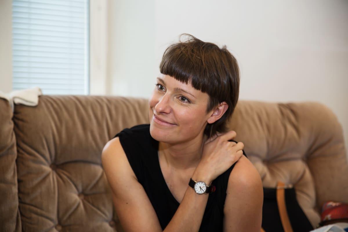 Teatteriohjaaja Anni Klein.