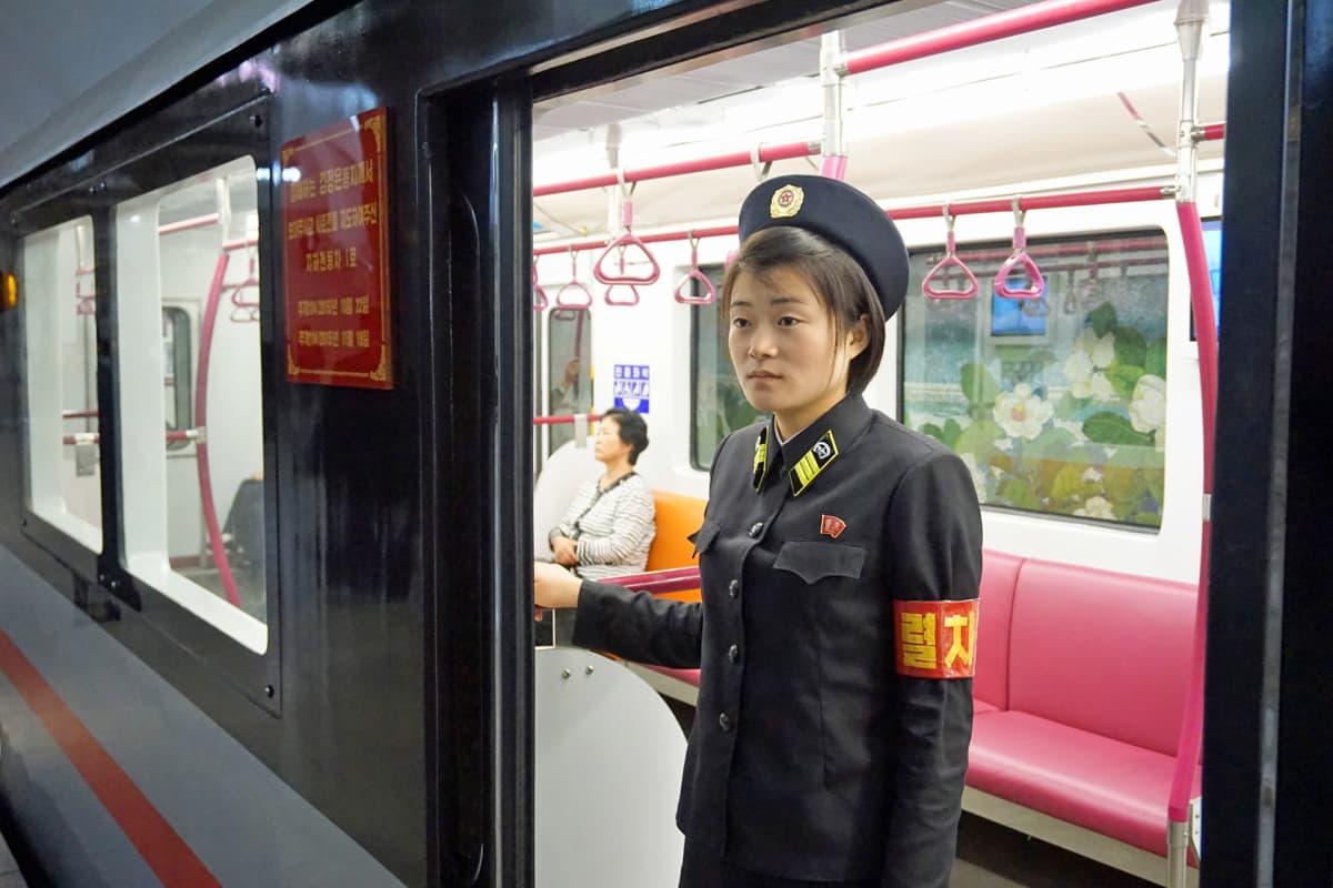 Metron lähettäjä.