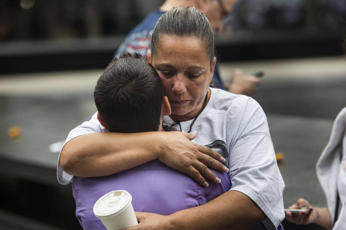 New Yorkin World Trade Centerissa järjestetään jokavuotiseen tapaan 11. syyskuuta terrori-iskujen uhrien muistotilaisuus.