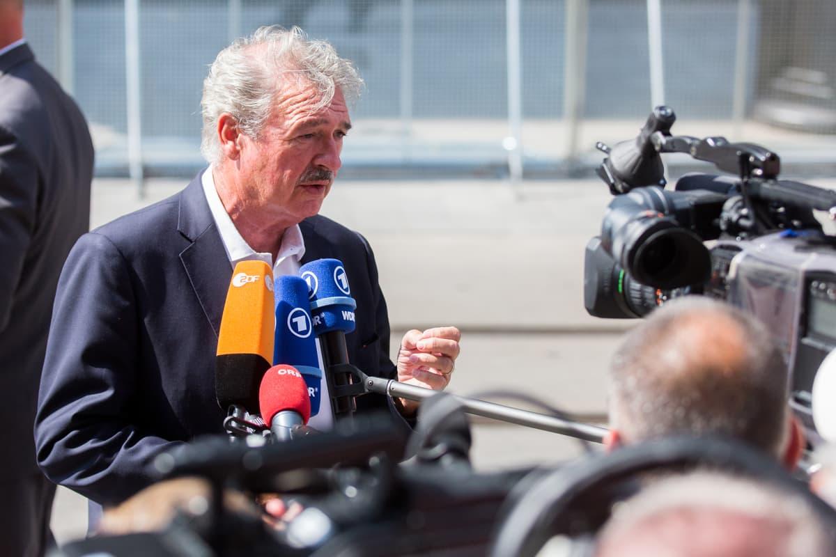 Luxembergin ulkoministeri Jean Asselborn EU:n ulkoministereiden tapaamisessa Slovakiassa syyskuun alussa.