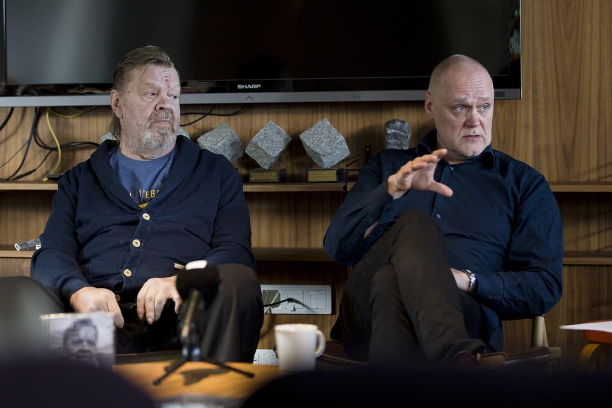 Vesa-Matti Loiri  ja Timo Kiiskinen