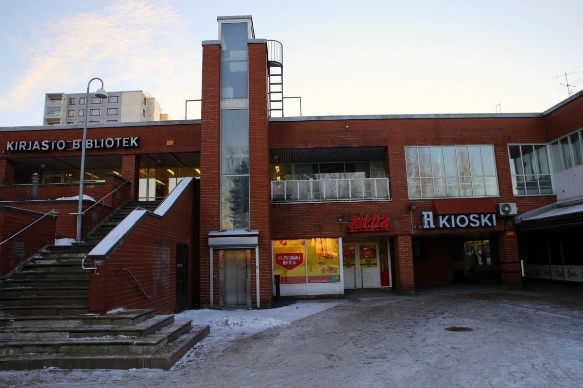 Koivukylän asemanseudun liikekeskus uusitaan lähivuosien aikana.