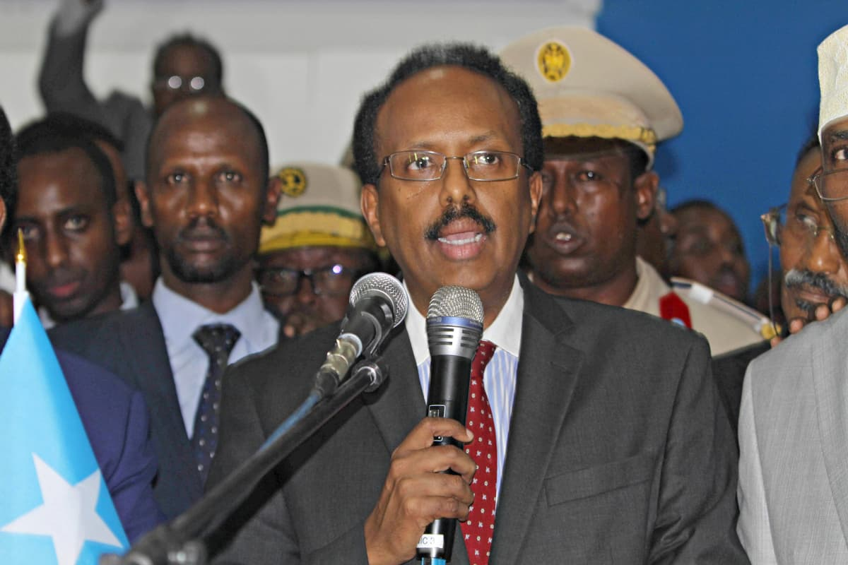 Mohamed Abdullahi Farmajo.