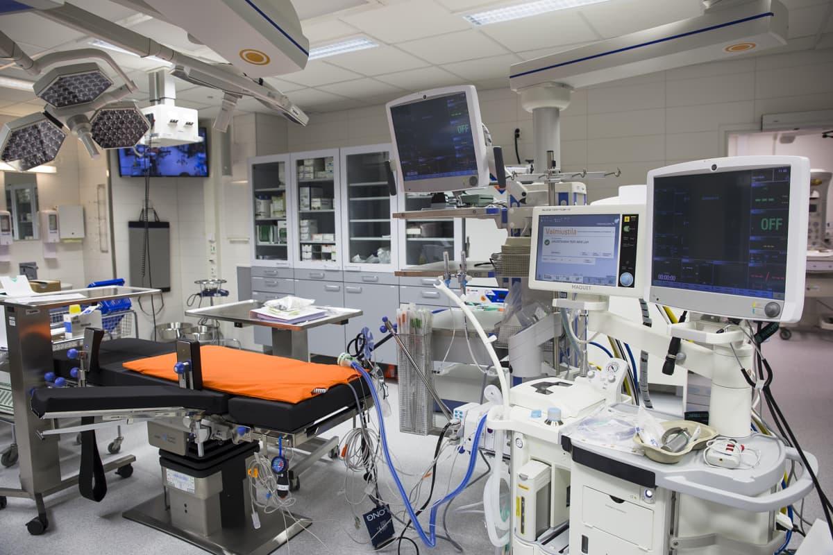 Naistenklinikan Leikkaussali