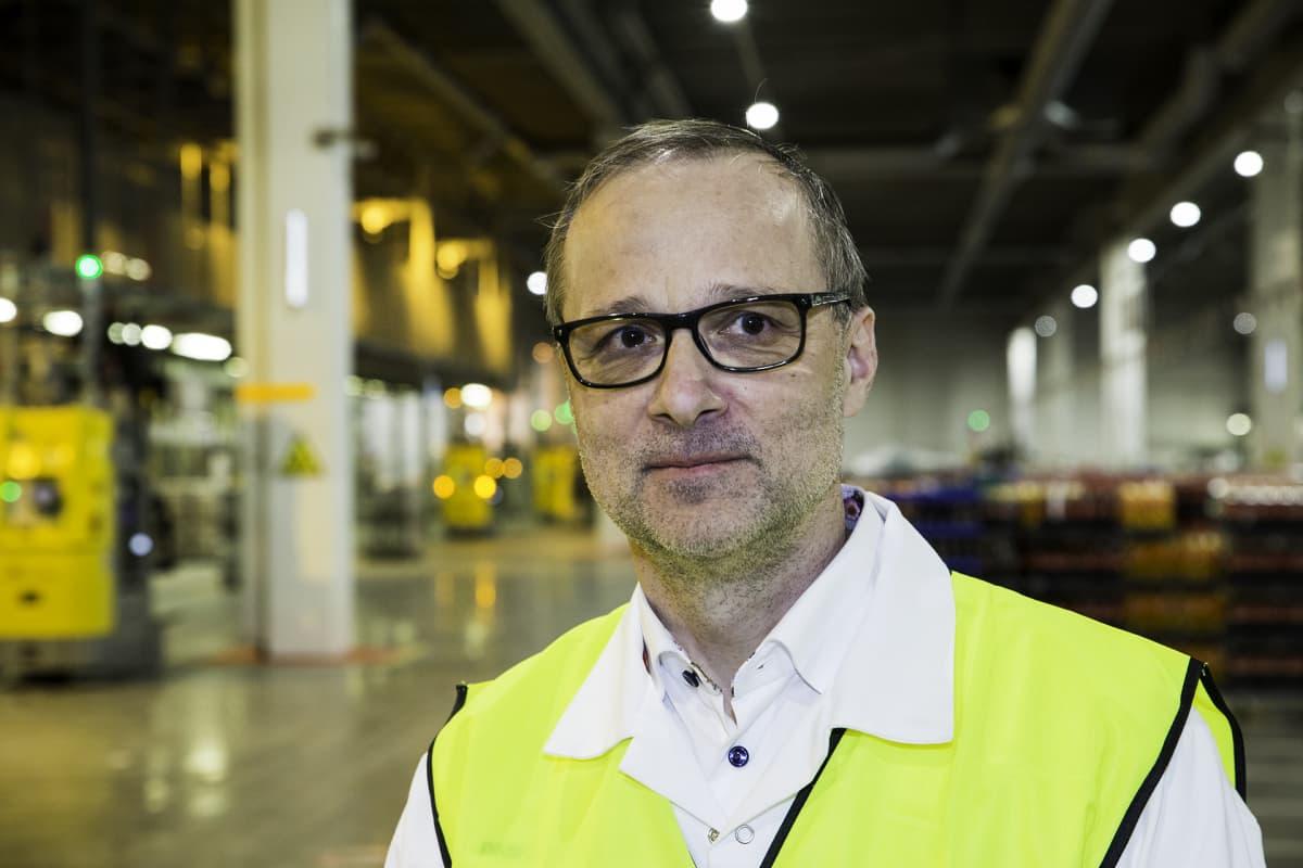 toimitusketjujohtaja Pasi Lehtinen sinebrychoff