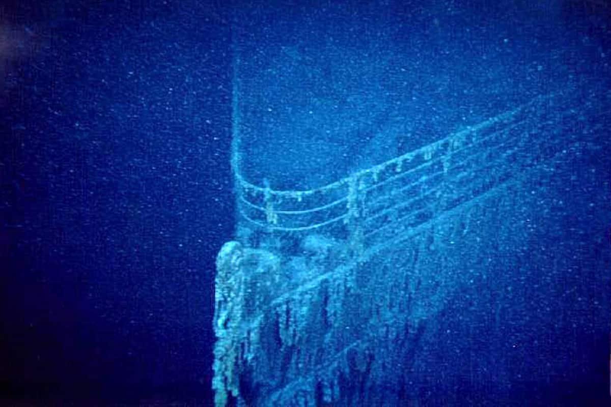 Titanicin hylky.