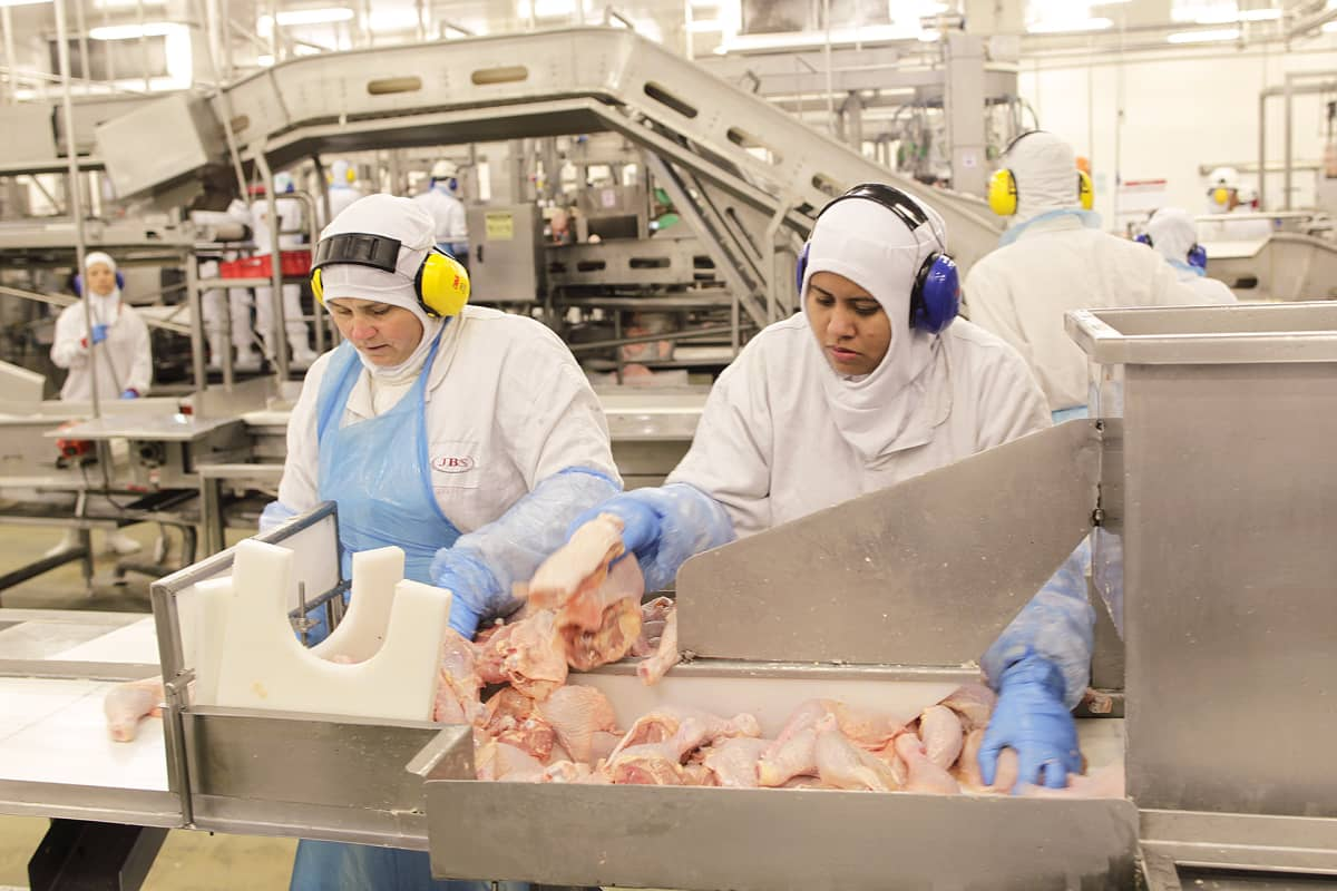 Brasilia lihatehdas Lapan kaupungissa.
