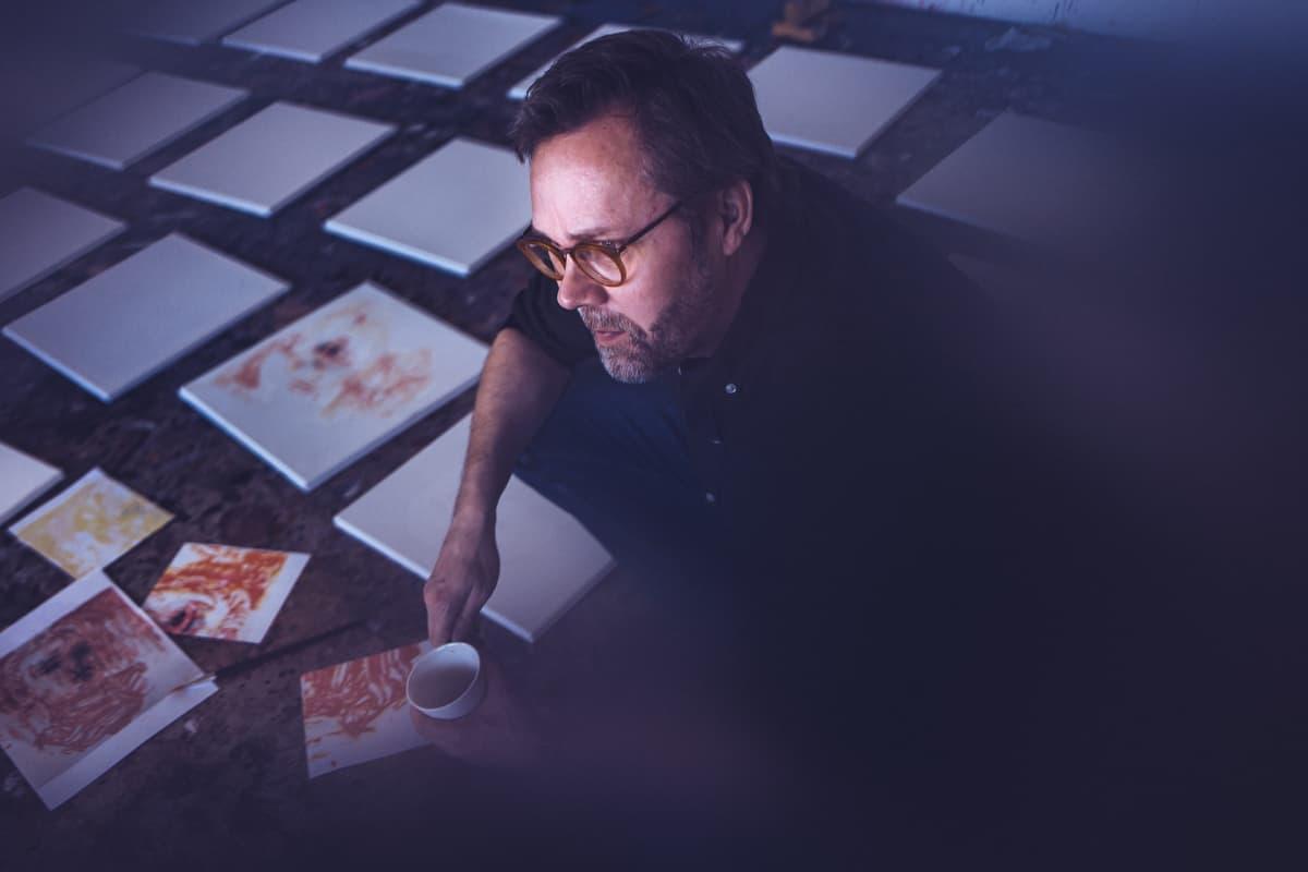 Taidemaalari Heikki Marila.