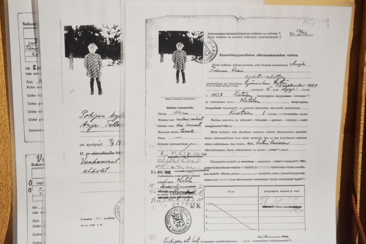 sotalapsen dokumentteja