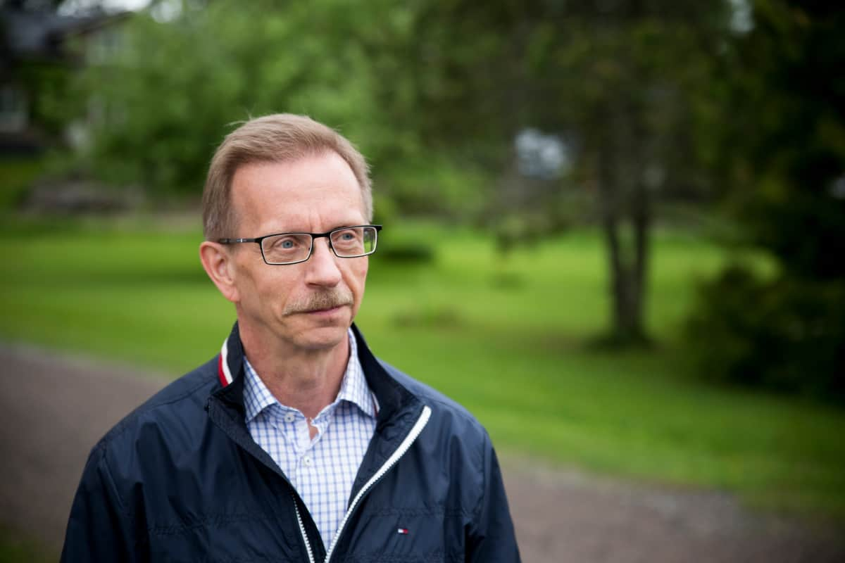 Pukkilan kunnanjohtaja Juha Myyryläinen.